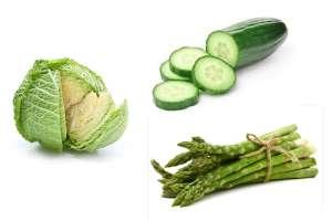 Quemar verduras abdominal para grasa