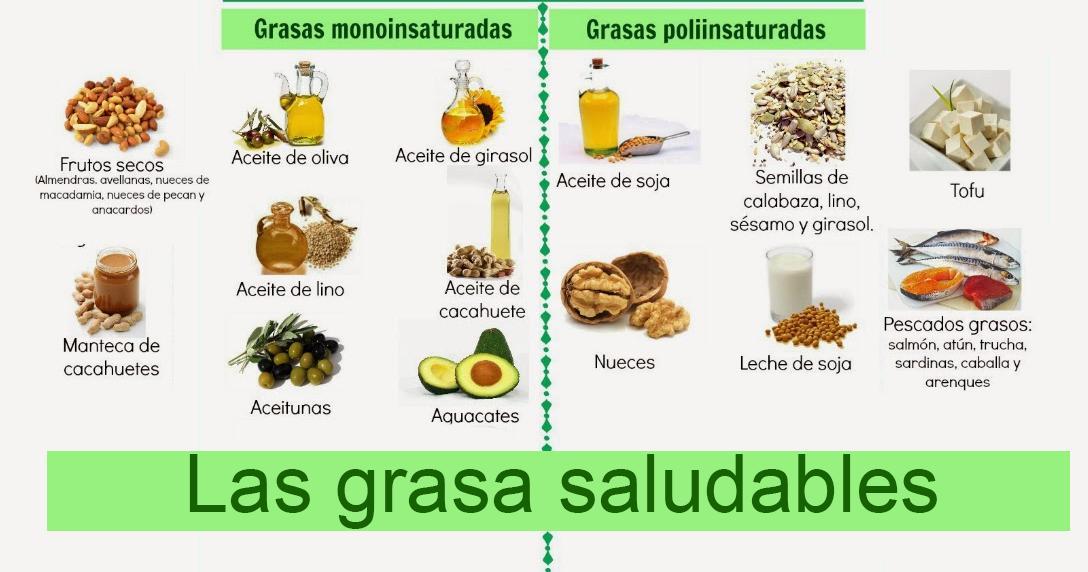 Alimentos con mas grasas saturadas - medizzinecom